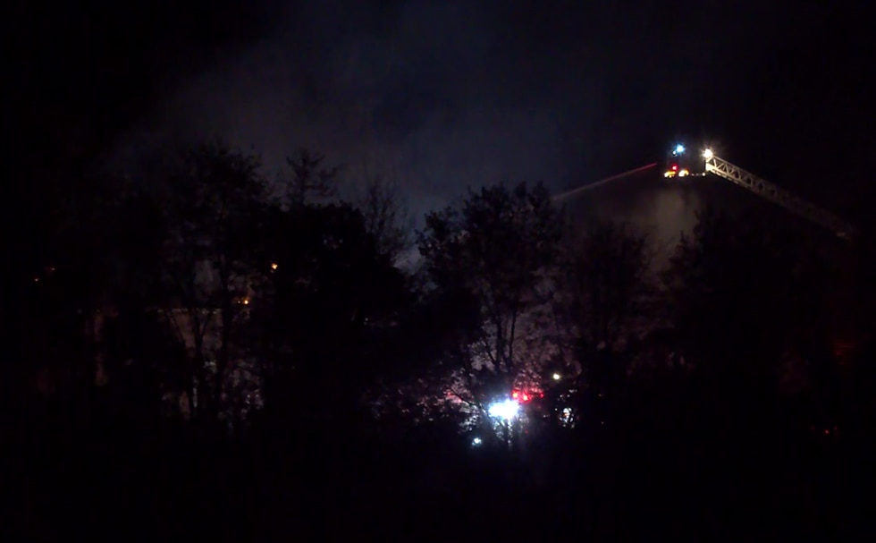Firefighters battled a large house fire on Fordson Farm Lane in Henrico County on Wednesday...