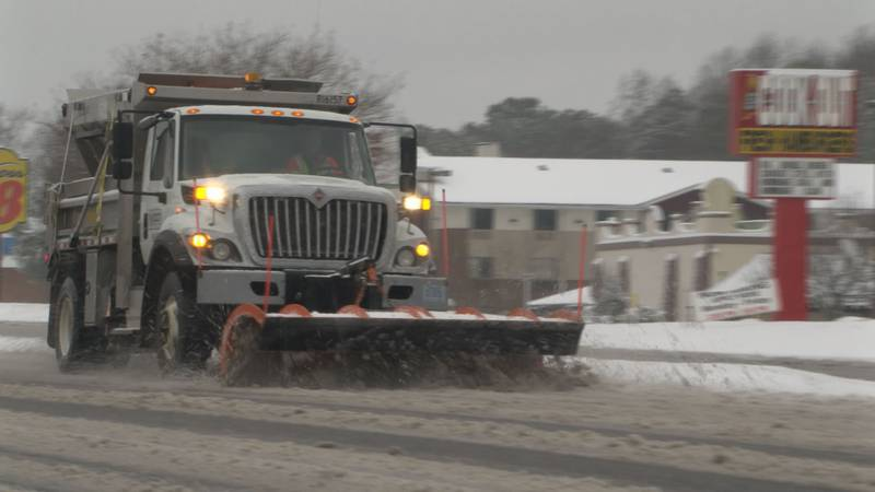 Central VA gets blanketed in first major snow storm of season