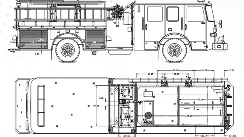 Atlantic Emergency Solutions shared blueprints of Hanover County's new firetrucks that are...