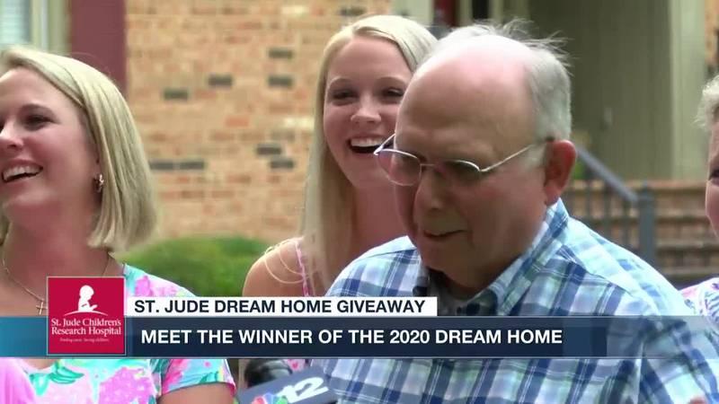 76-year-old Dinwiddie man wins 2020 St. Jude Dream Home