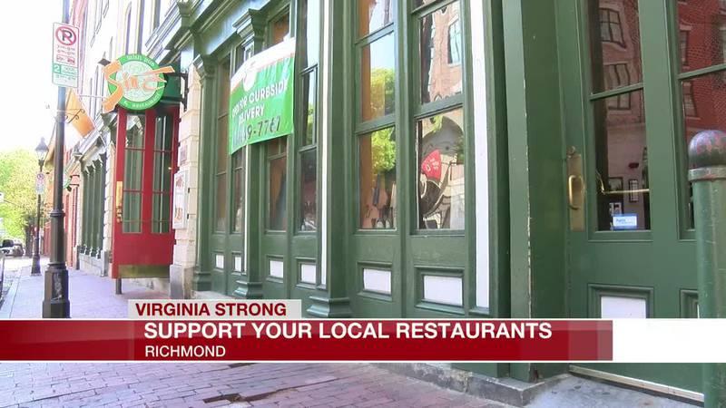 Support your local restaurants in Richmond