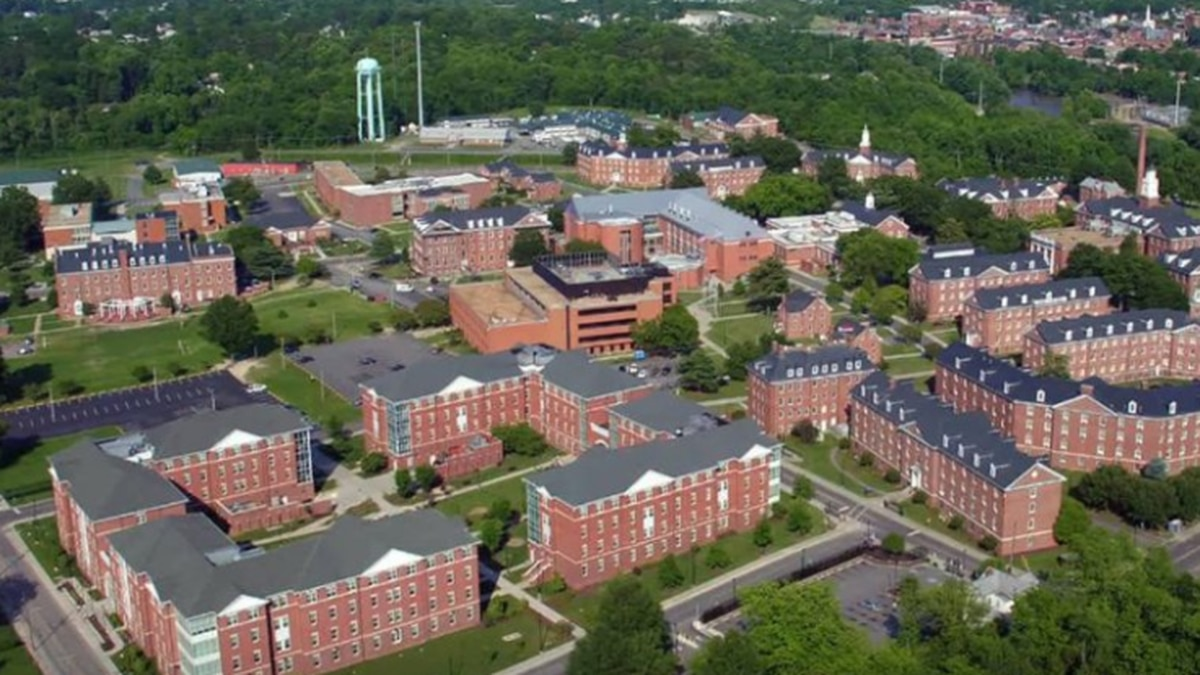 Virginia State University in Ettrick.