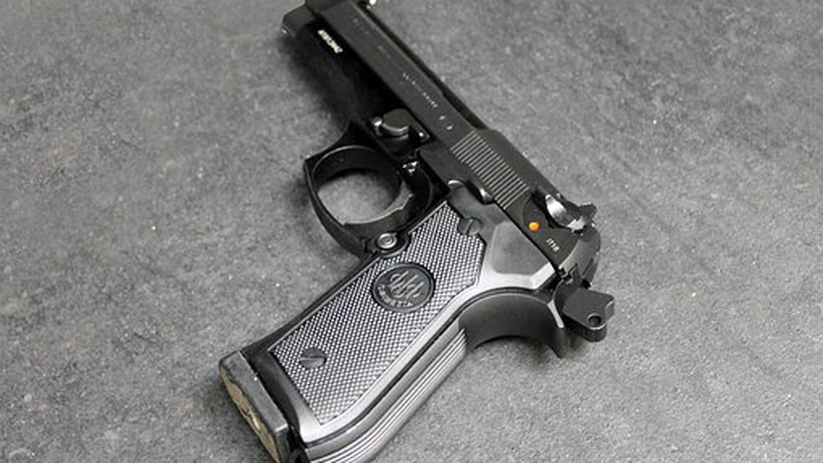 A handgun (Source: Pixabay/stock image)