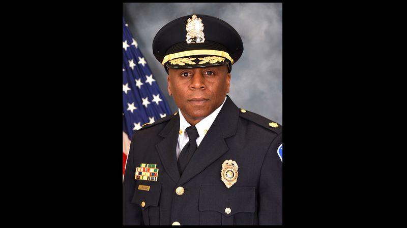 "Mayor Levar Stoney named William ""Jody"" Blackwell as the interim chief of the Richmond Police..."
