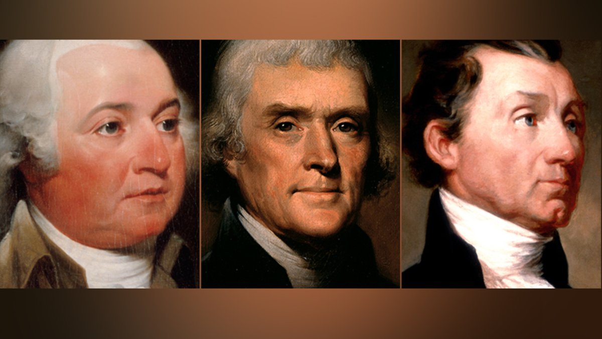 On this day, America declared its independence, but it's also the day that marks the deaths of...