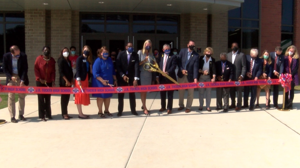 The ribbon-cutting was held Wednesday.