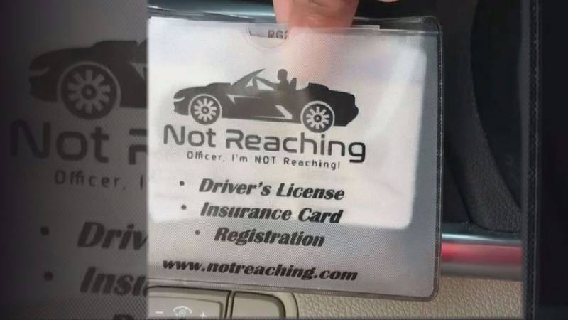 The Not Reaching Pouch can house everything from your registration, insurance, and even your...