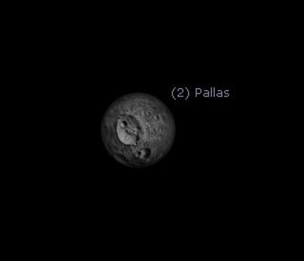 The asteroid Pallas reaches opposition on September 11th.