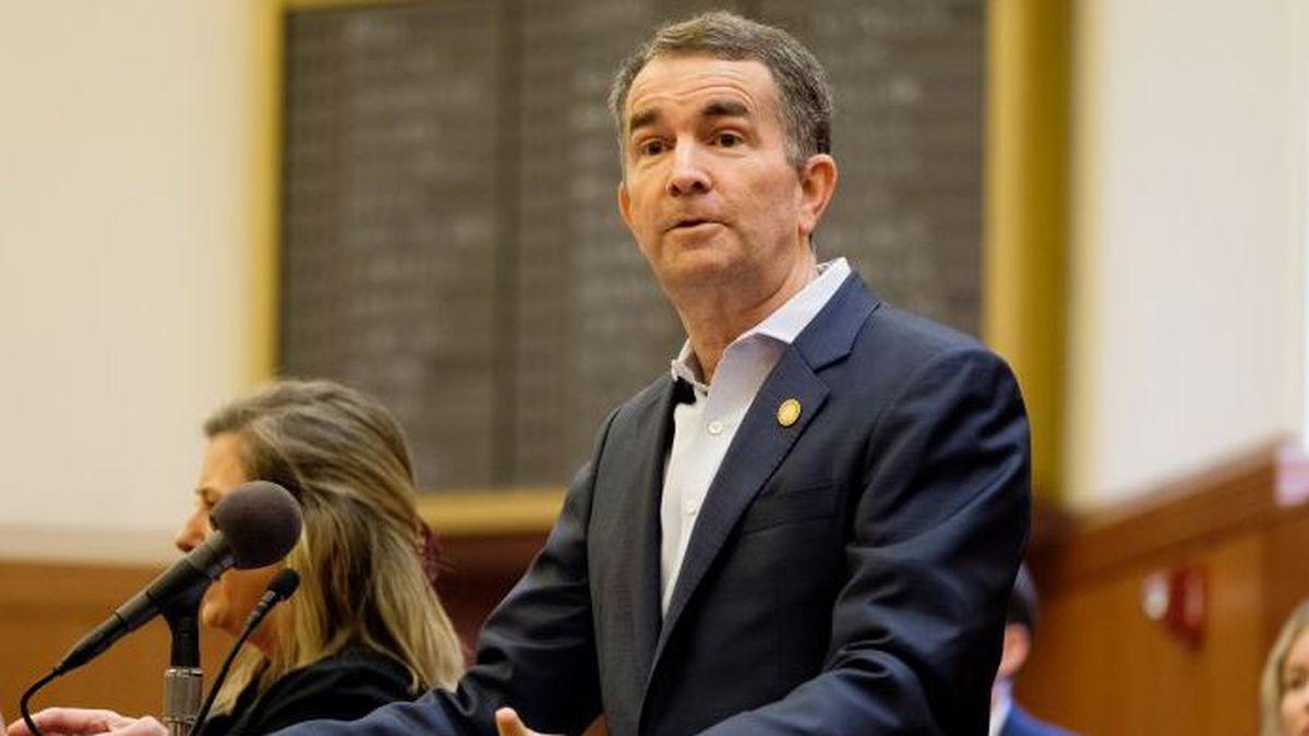 Gov. Ralph Northam, pictured earlier this month, has been holding regular briefings on the...