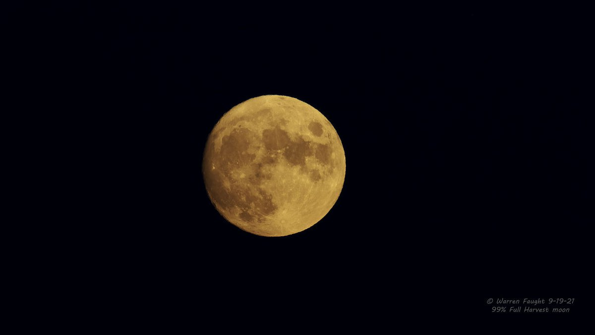 Monday is when we will have a completely full moon.