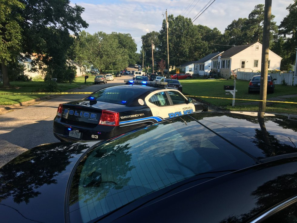 Hopewell police are investigating a deadly-double shooting that happened on Thursday afternoon.
