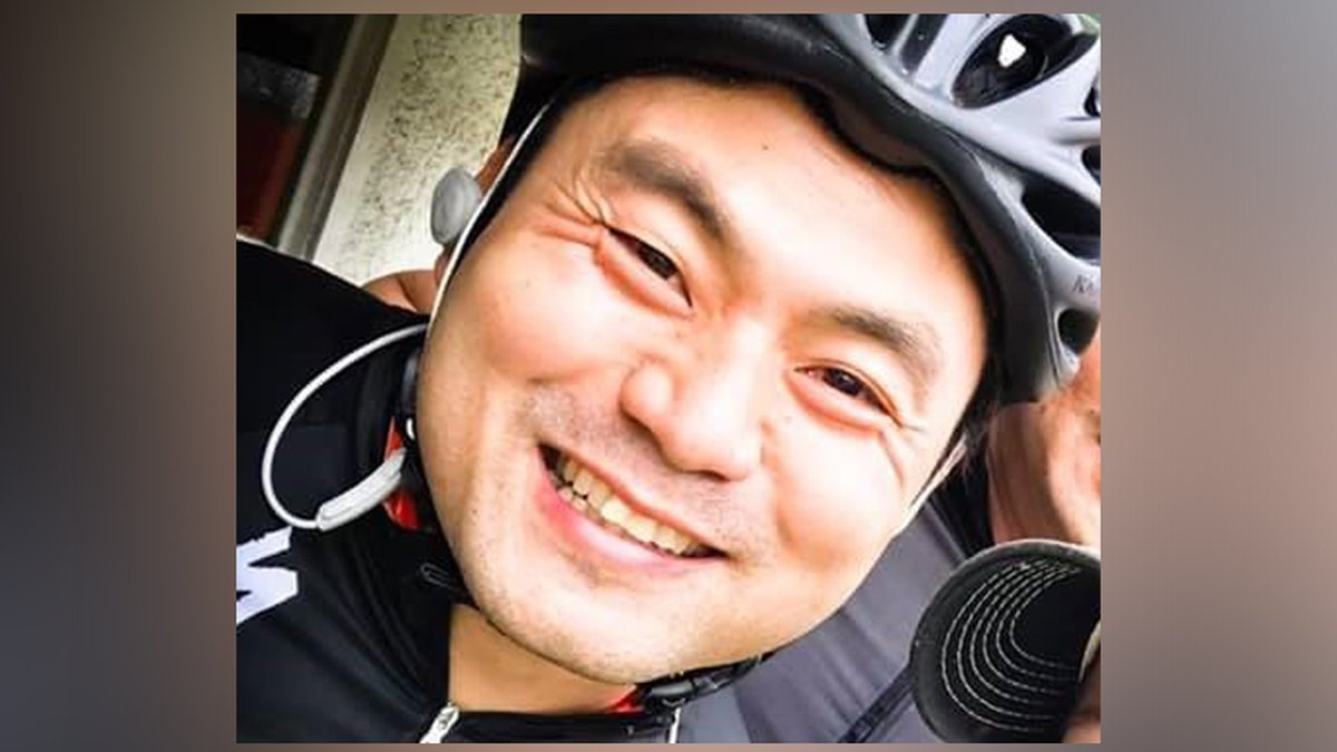 Quy P. Pham died during a triathlon on Sunday.