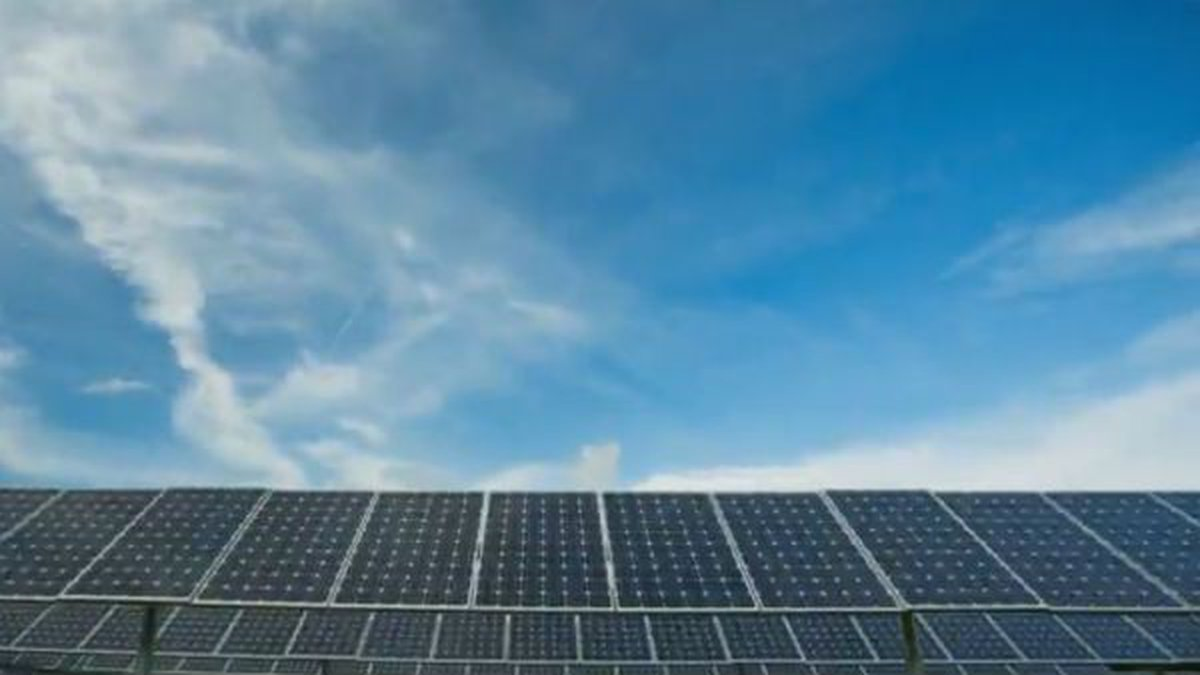 The solar plant is located in Spotsylvania, Virginia.