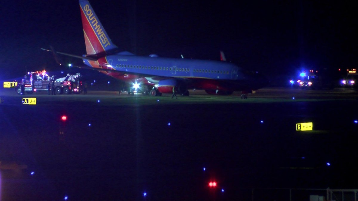 File photo of a Southwest airplane (Source: NBC12)