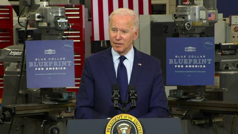 """President Joe Biden: """"This is an opportunity for the wealthy to stay wealthy, the poor to have..."""