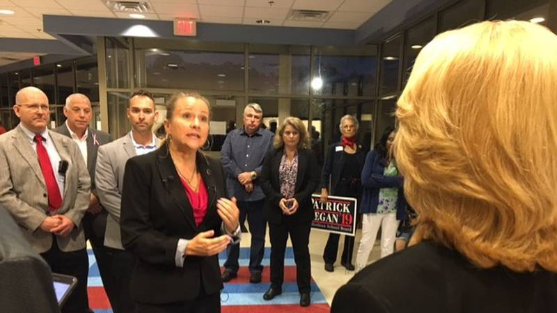 Virginia Senator Amanda Chase is speaking out after the Chesterfield GOP expelled her from...