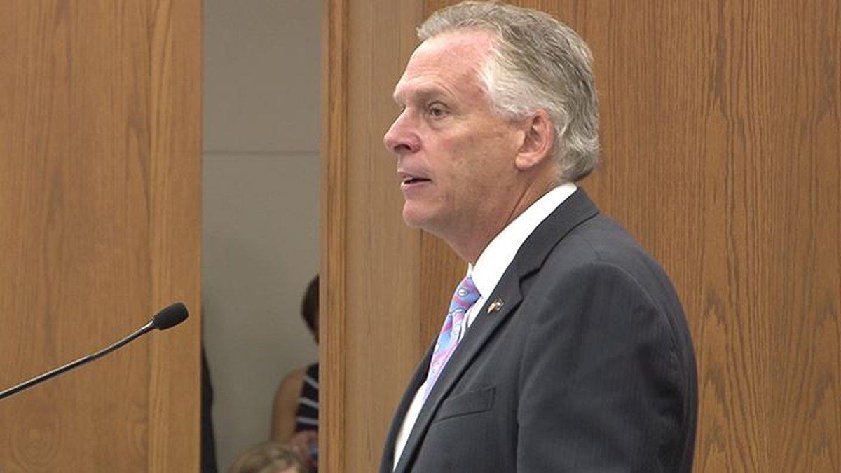 Former Virginia Gov. Terry McAuliffe is no longer considering a run for president.
