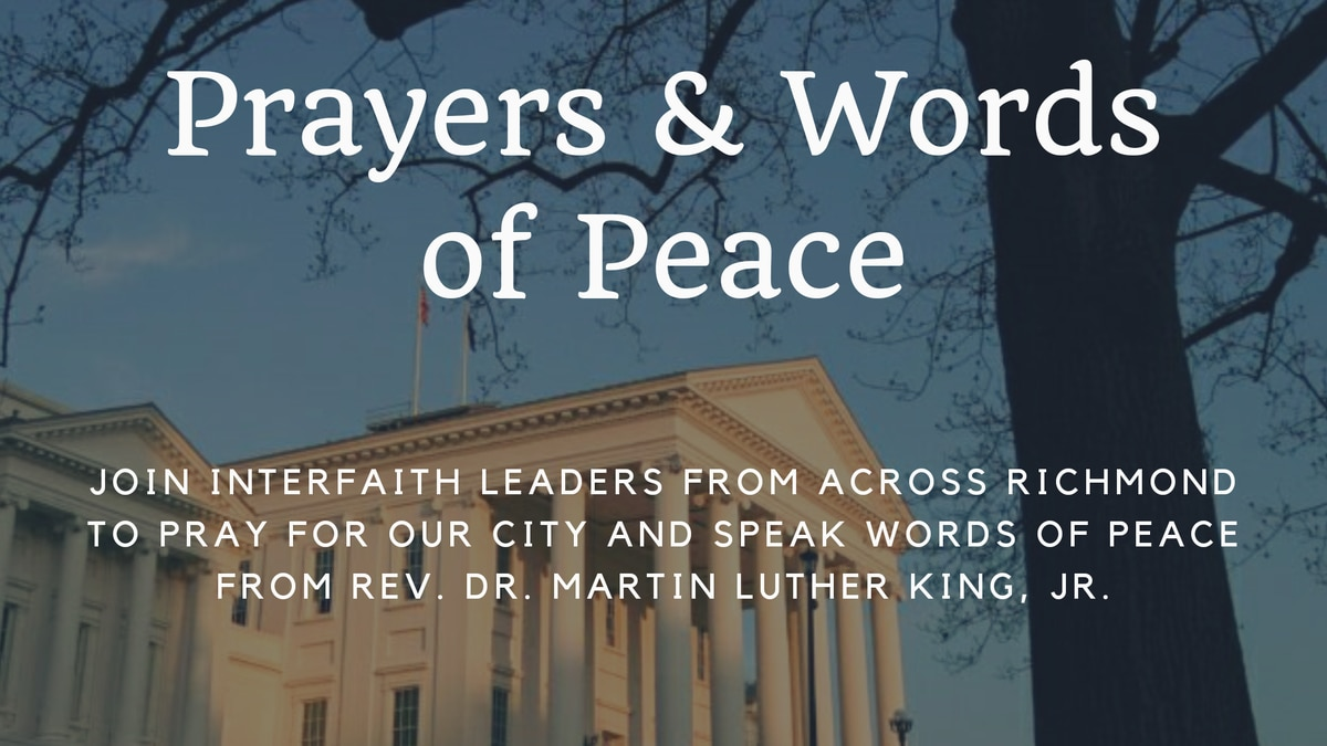A vigil to honor Dr. Martin Luther King, Jr.'s legacy of peaceful non-violence will meet at...