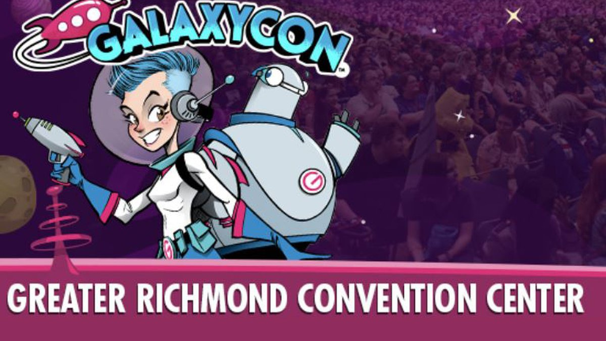 GalaxyCon Richmond is More Than a Comic Con! It's a 3-Day festival of fandom with celebrities,...