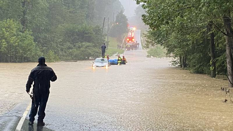 Chesterfield police water rescue