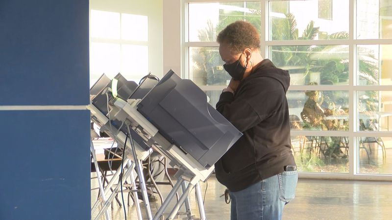 Voters are not allowed to vote early in Mississippi.