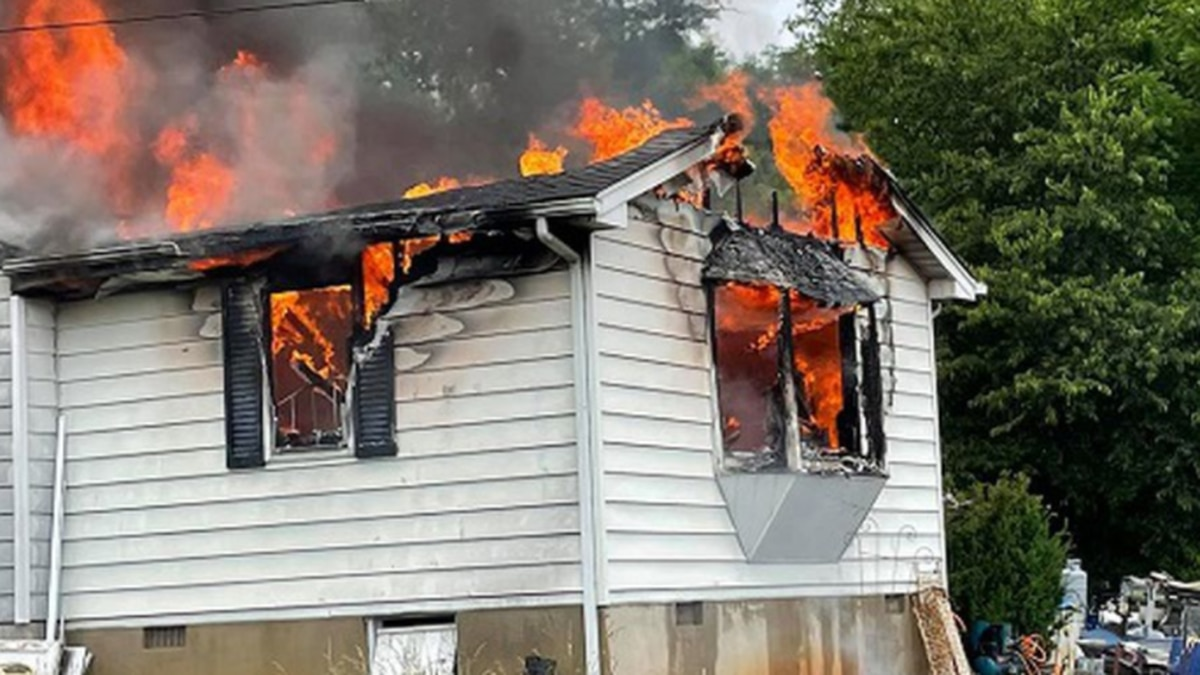 House Fire on Willow Wood Drive in Botetourt County