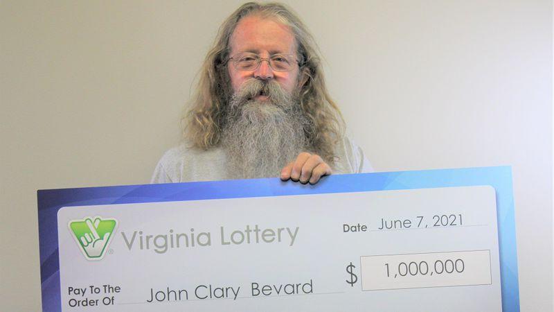 John Bevard. Photo courtesy the Virginia Lottery.