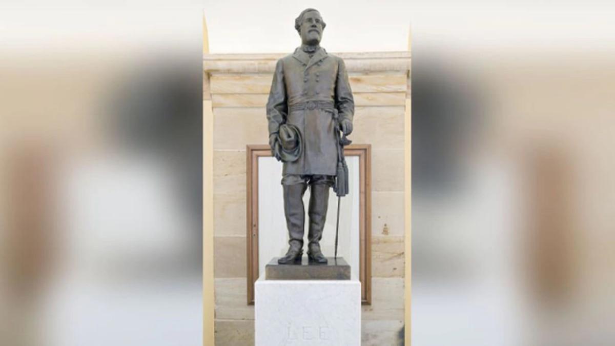 Robert E. Lee Statue at the U.S. Capitol