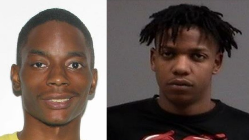 Richmond police are looking for Tyeqwon Friend, 23 (left) and Keion Taylor, 20 (right) in...
