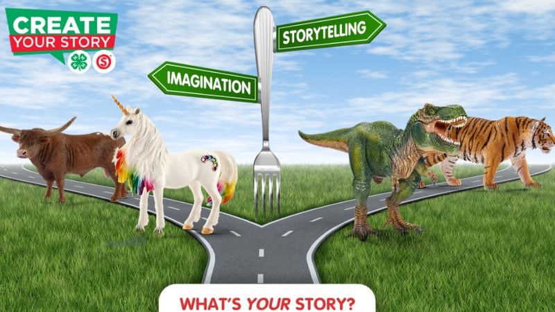 Create Your Story contest from Schleich and 4-H