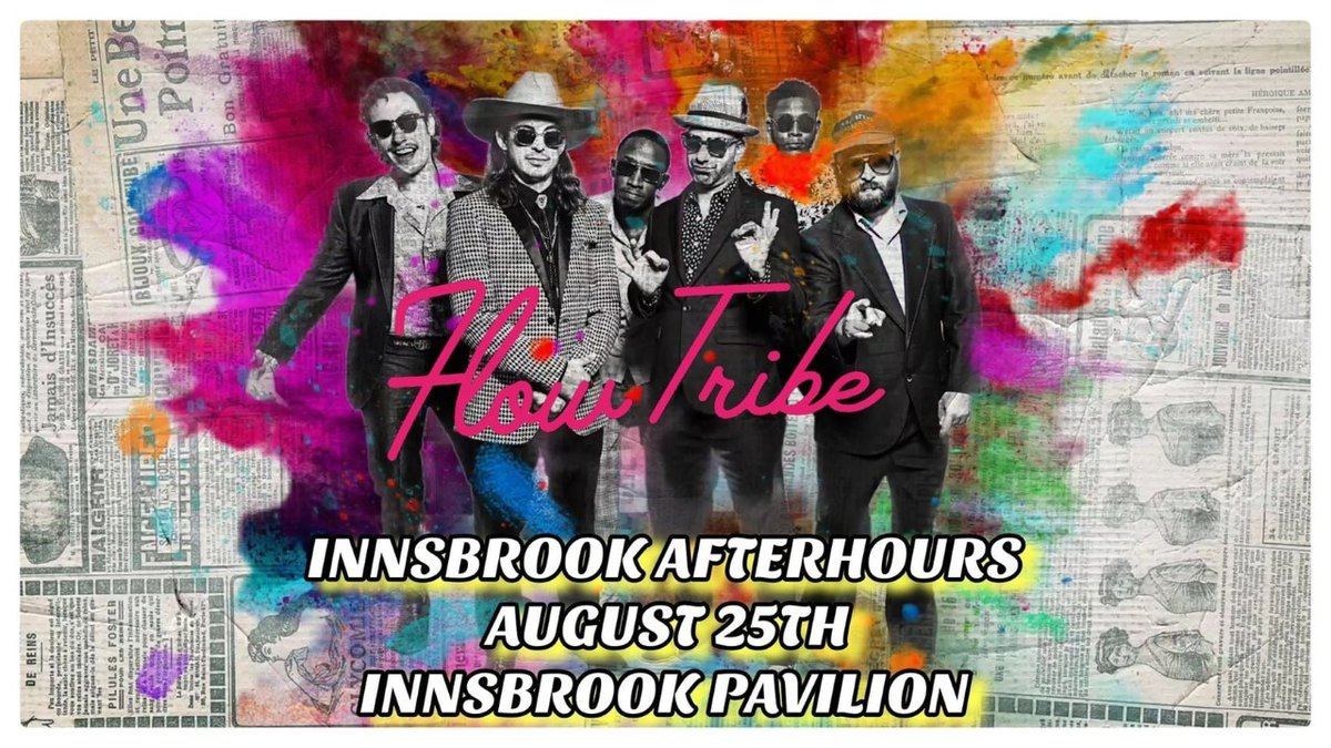 Flow Tribe will perform at Innsbrook After Hours on Wednesday.