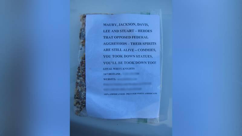 Henrico police have increased patrols around Varina and Fairfield after Ku Klux Klan propaganda...