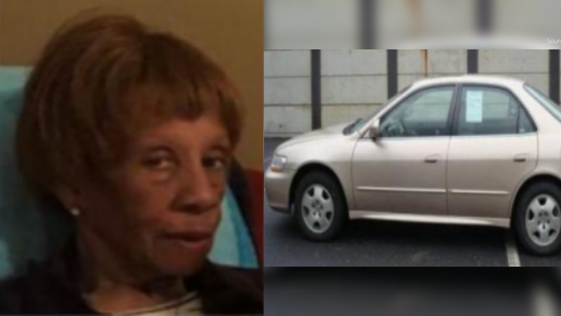 Lola Estelle Mallory may be driving a gold Honda Accord, according to Virginia State Police.