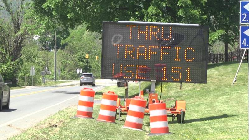 Virginia Department of Transportation says there is no clear timeline for when the road will be...