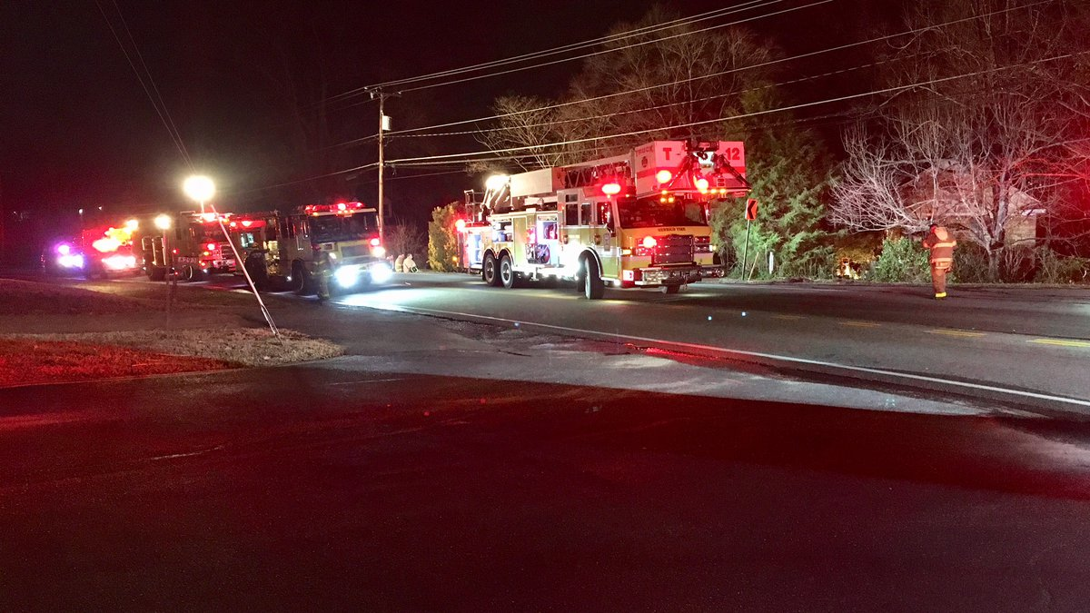Henrico fire crews responded to the home on Woodman Road at approximately 11 p.m. on Wednesday...