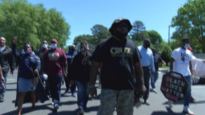 Organizer Cruz Shepard was joined by State and local elected leaders, police chiefs, city...
