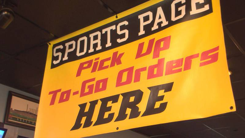 Sports Page Bar and Grill in Midlothian