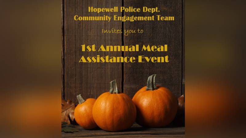 The Hopewell Police Department's Community Engagement Team will be hosting its first meal...