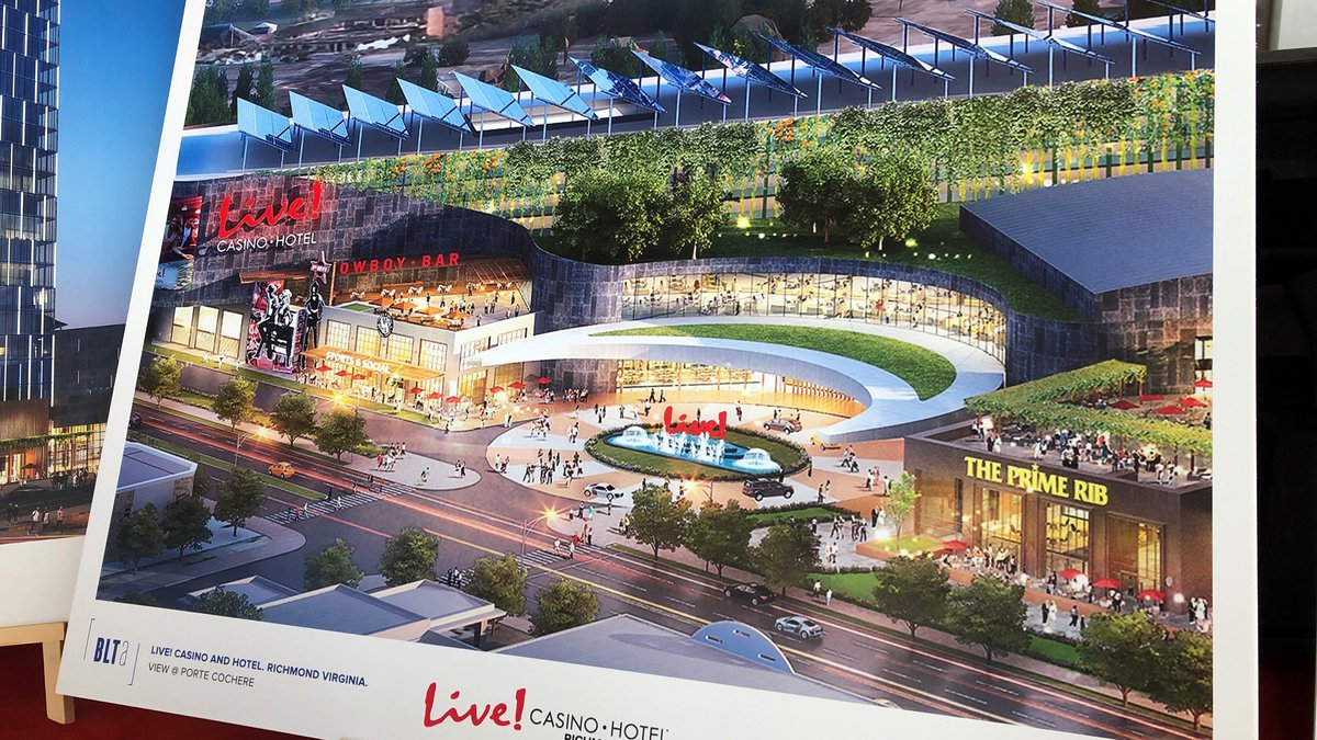 Render of the proposed Scott's Addition Casino and Hotel