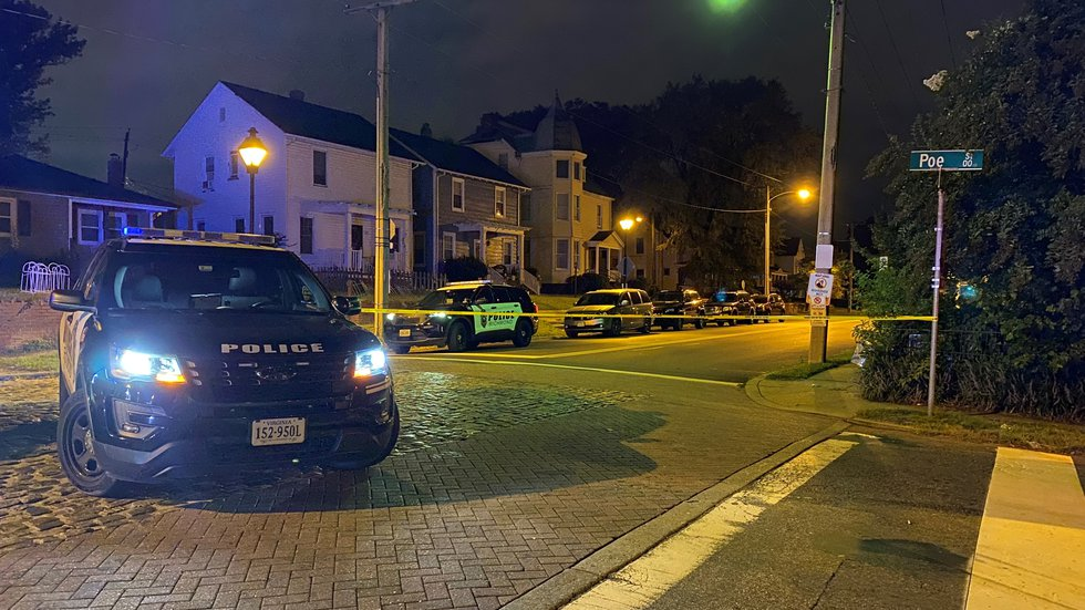 Around 3 a.m. Tuesday, Richmond police were called to a shooting on Poe Street.