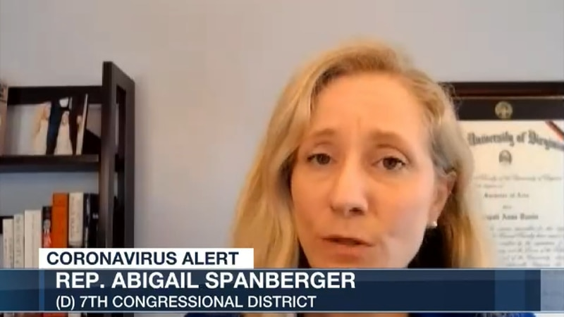 Spanberger says more guidance is needed from Washington including more access to healthcare in...