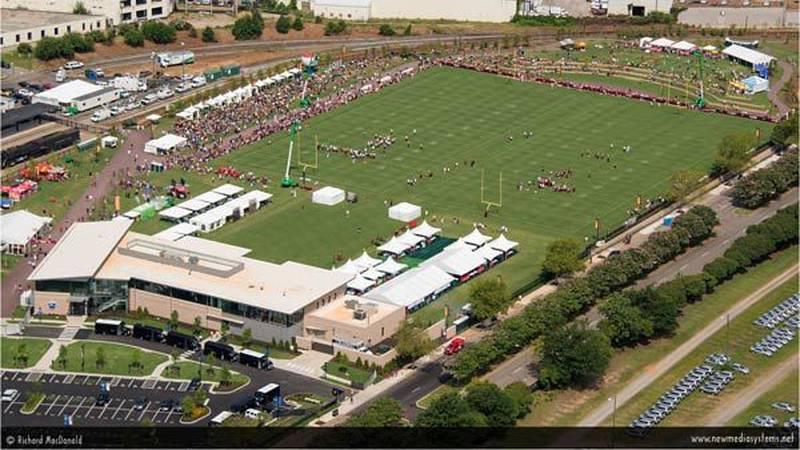 Washington Redskins practice at Richmond Training Camp (Source: Richard MacDonald)