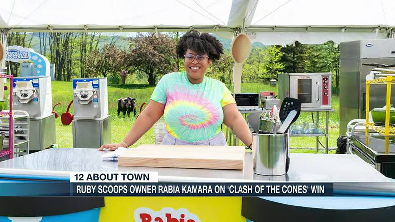 Ruby Scoops owner, Rabia Kamara, on 'Clash of the Cones' win