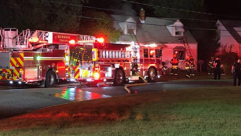 A woman is dead after a fire overnight at a home in Richmond's southside.