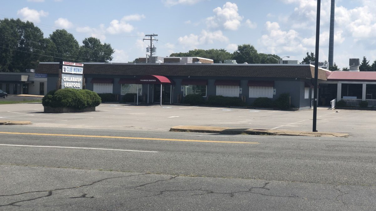 Calabash Seafood restaurant continues to operate even though the Virginia Department of Health...