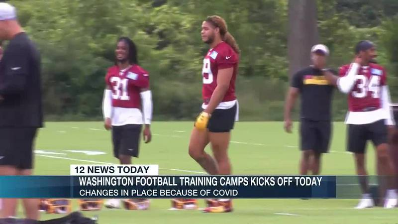 Washington Football Team training camp kicks off in Richmond with some changes because of Covid