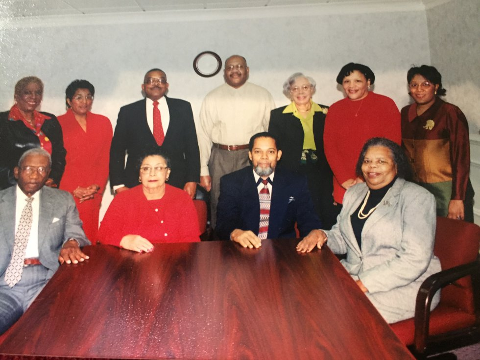Board member Catherine Makin years before she retired (Source:Richmond Heritage Federal Credit...