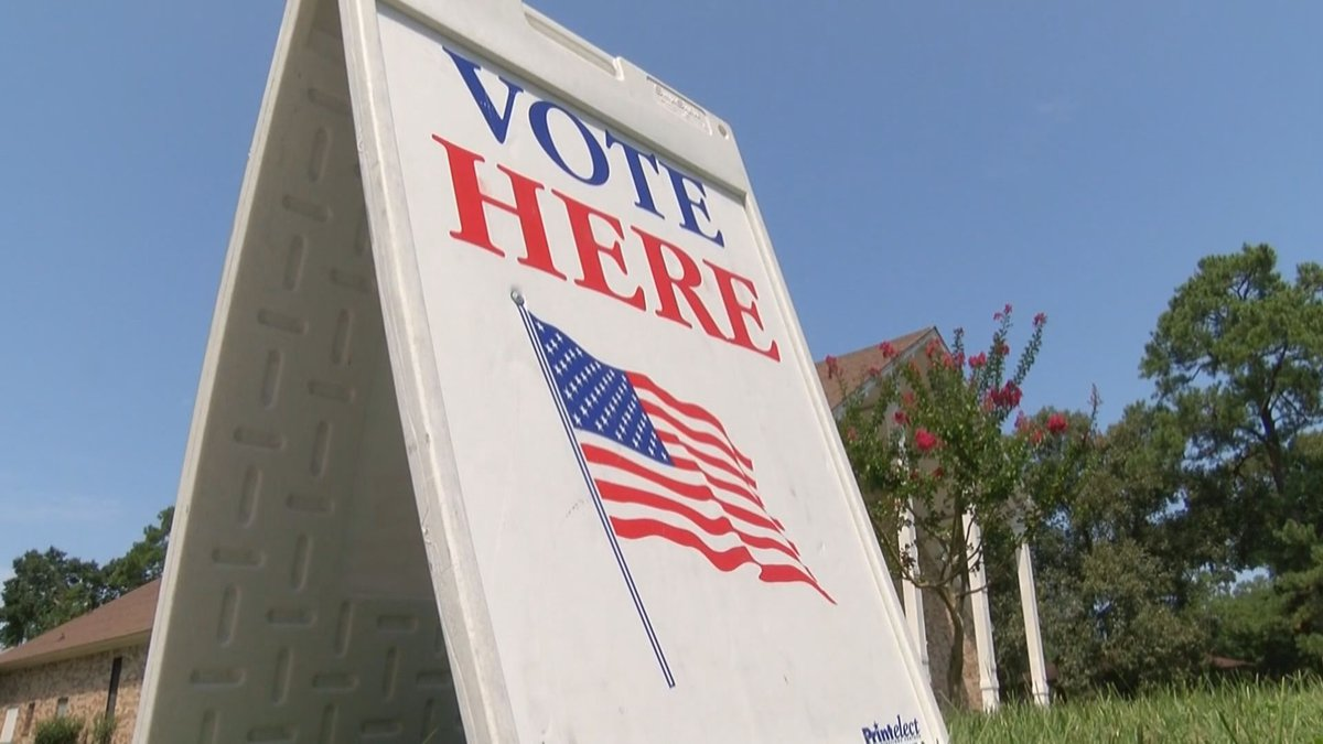 Completed absentee ballots must be postmarked by Election Day and received by local registrars...