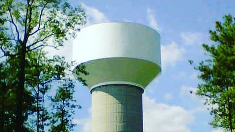 The Farms of New Kent water storage tank will be off-line for interior and exterior painting.