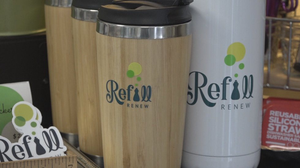 RefillRenew has sustainable options that college students will be seeing more of. (WHSV)